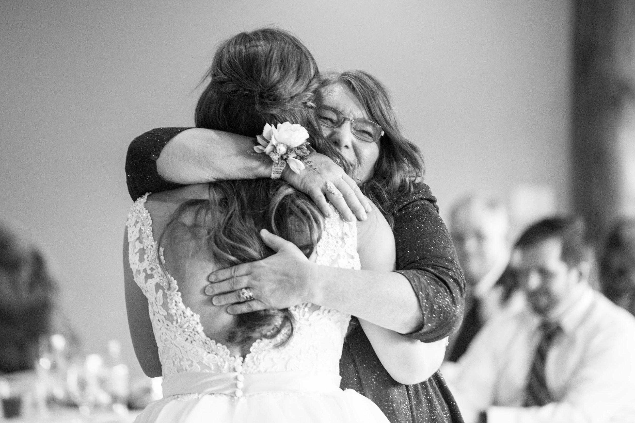 Mother of the Bride Hug