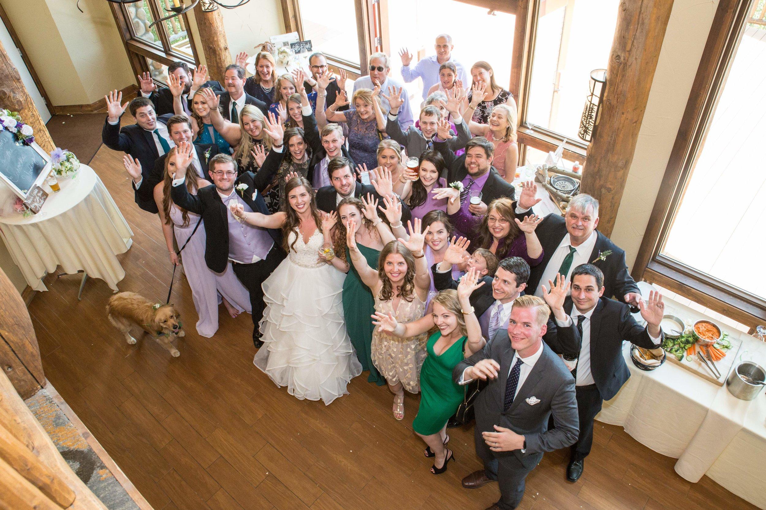 Wedding Guests at The Lodge at Breckenridge