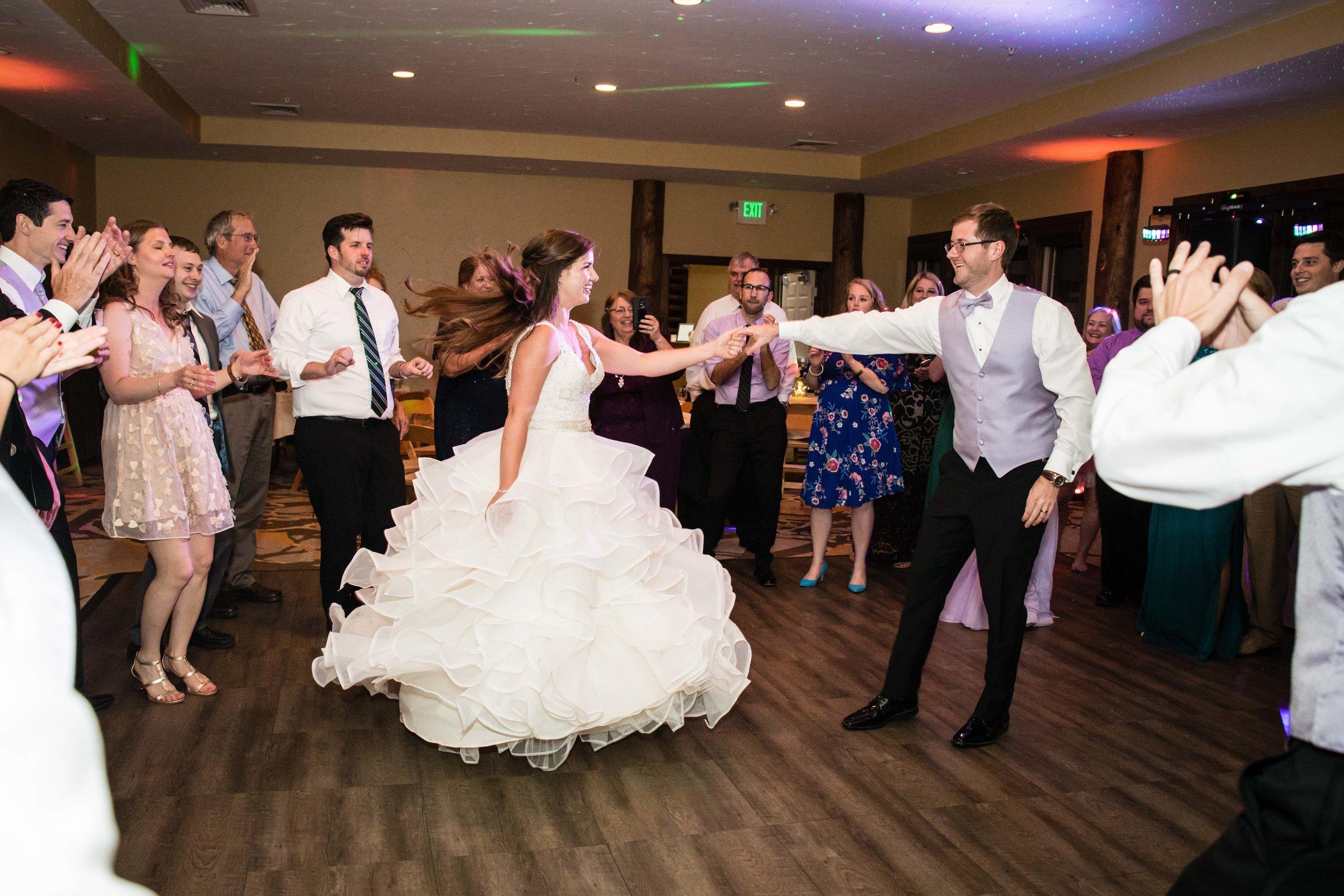 The Lodge at Breckenridge Wedding Reception