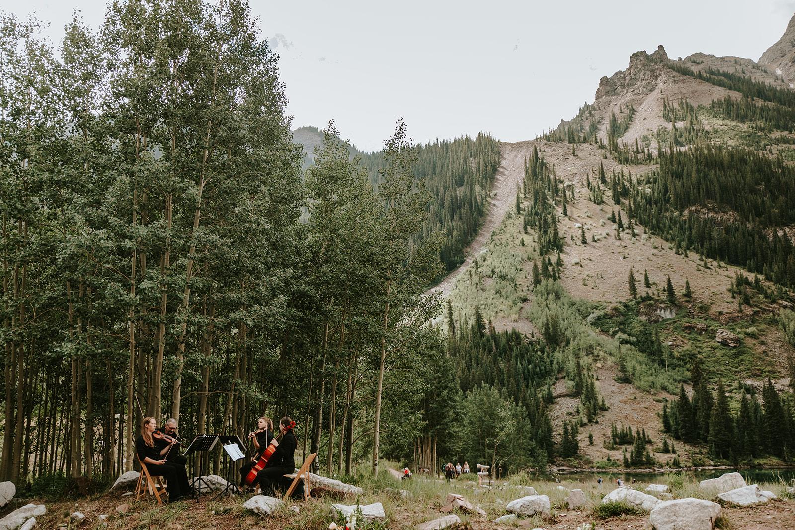 Aspen, Colorado Wedding at Maroon Bells