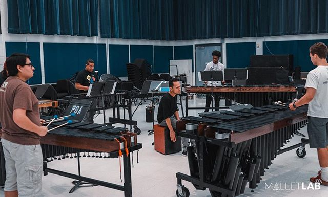 That time when @ivan.drums was rehearsing Ariel at #malletlab18 with all the homies. #lifechanging #fbf •••••••••••••••••••••••••••••••••••••••••••••••••••••••••••• #malletlab #malletlab19 #itsnotaxylophone  #vibraphone #marimba #xylophone #memberfeature #percussioneducation #inspiration #pas #frontensemble @innovativepercussion @ludwigmusser @beetlepercussion @sabiancymbals_official @percussivearts