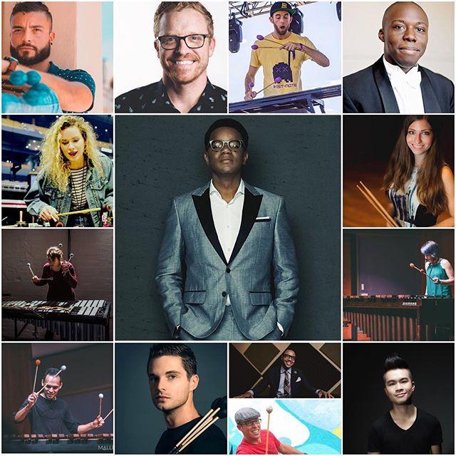 Avengers assemble!  @stefonharrismusic @_dcsleeps @iangrom_music @_galaxe_ @joshjonesdrums @raytaydrums @girlsmarch @drglockenav @matthewlaumusic @cleachmusic @ivan.drums @gloriaymusic @itsnotaxylophone @ericruckerdrums #malletlab19 JUNE 17-22 LETS GOOO!  Register NOW at www.MALLETLAB.com
