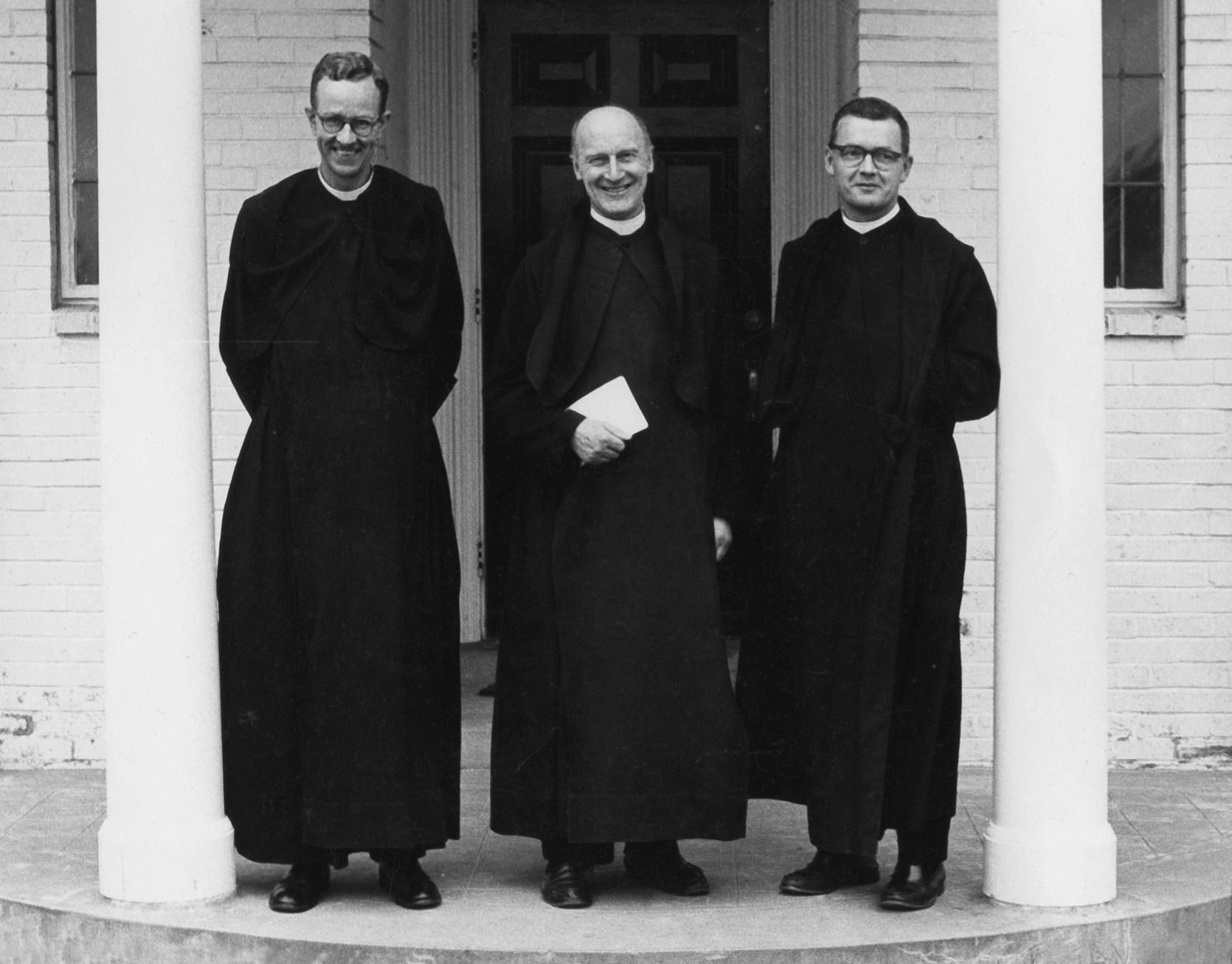 Prior Timothy Horner (Left) | Father Columba Cary-Elwes (Center) | Father Luke Rigby (Right)