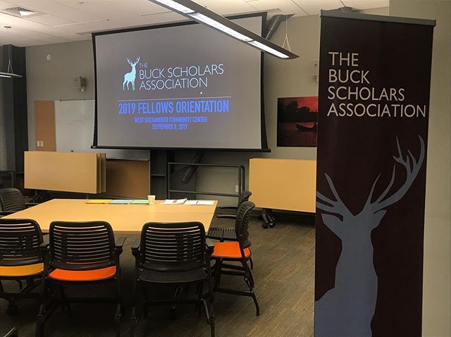 Excited for the 2019 #BuckFellows Orientation! #BuckScholars #BuckLegacy #WeAreBSA