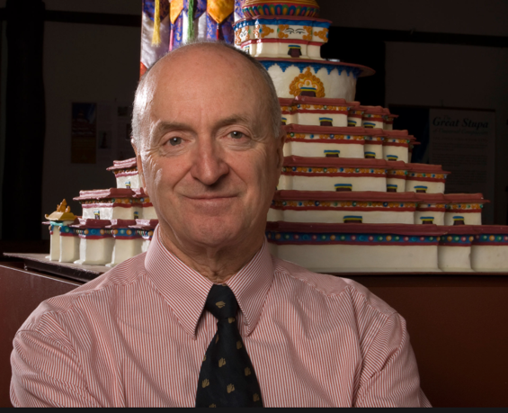 Ian Green, photo from  http://www.stupa.org.au/