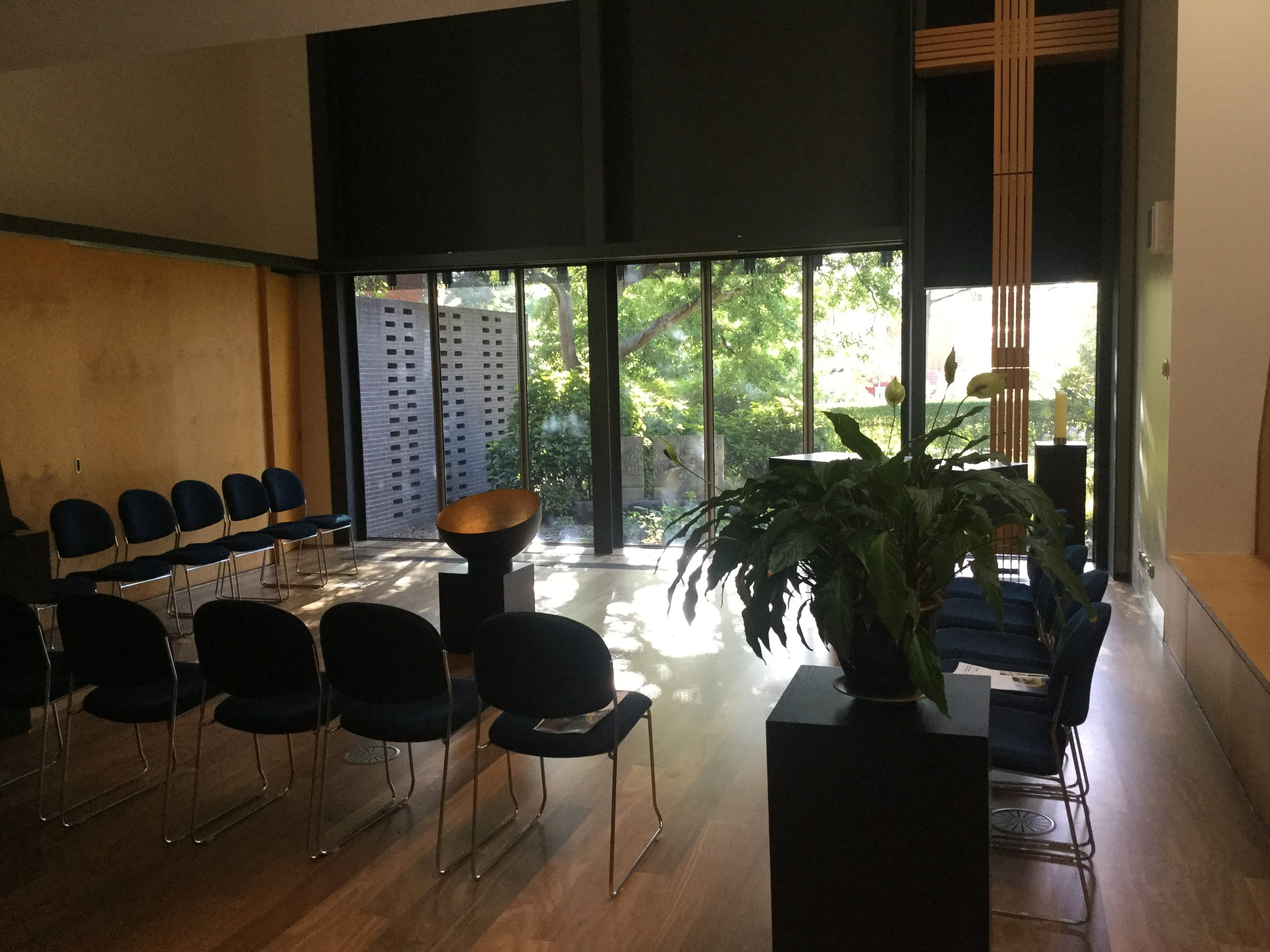 Photograph by Stephen Burns. The Centre for Theology and Ministry (CTM) Chapel.