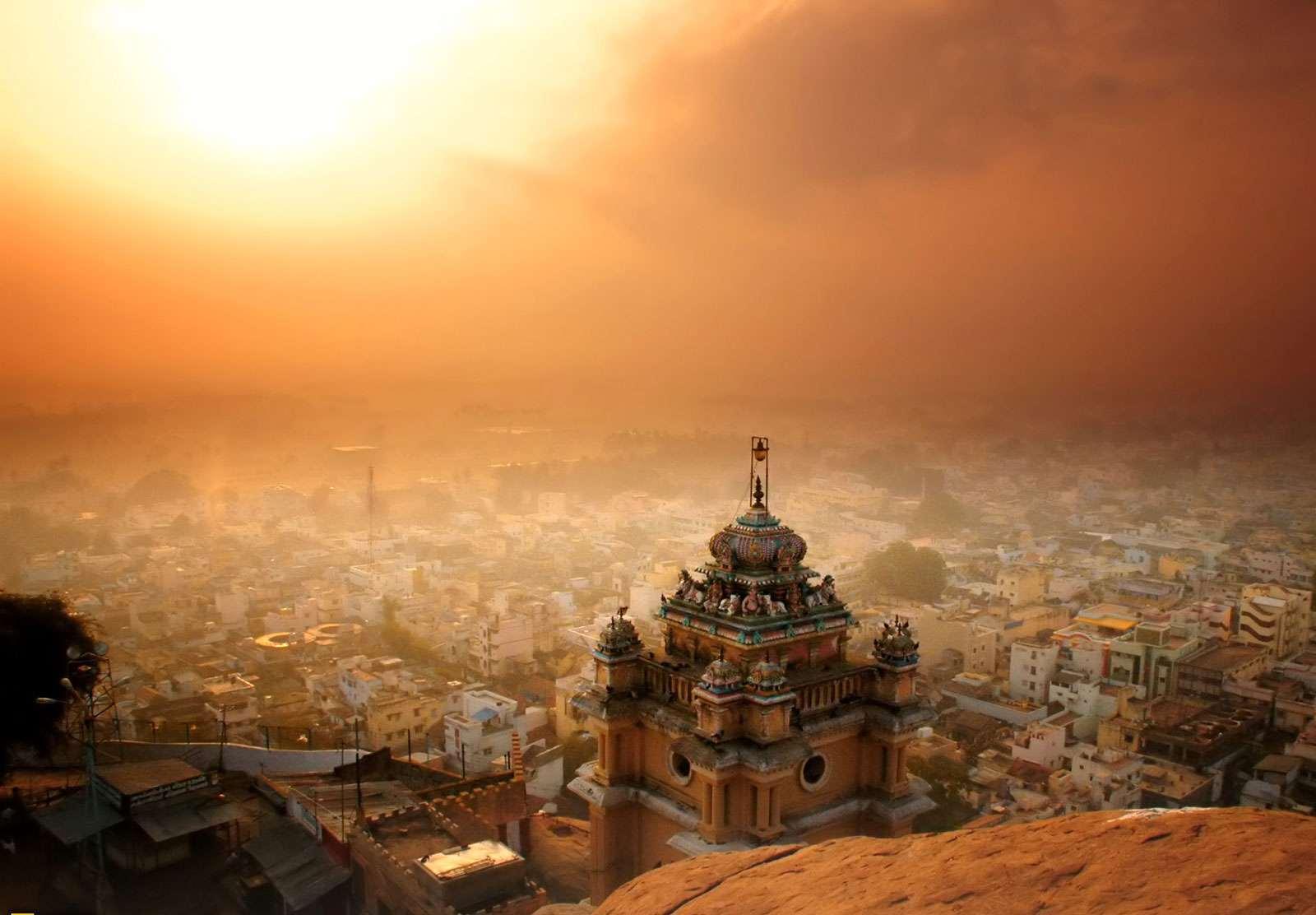 Heat wave; city of Madurai - photo from the Tamil Nadu Press