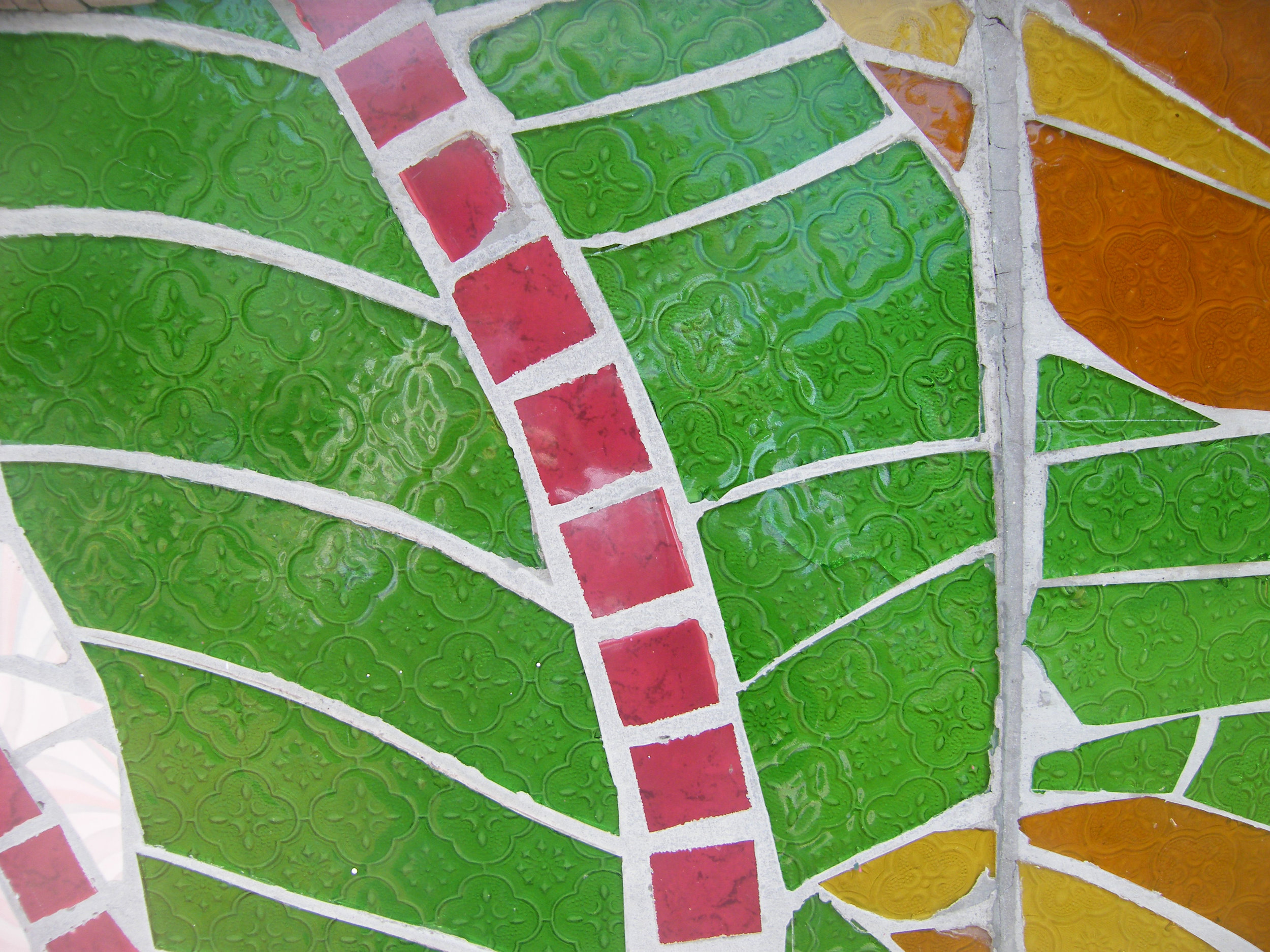 Tile art, Malaysia; photo by C. Schieve