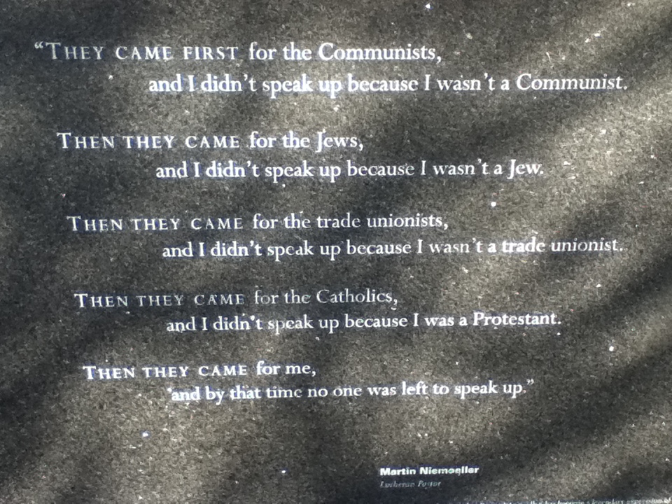 Boston    Holocaust Memorial   . (Photo: Stephen Burns.)