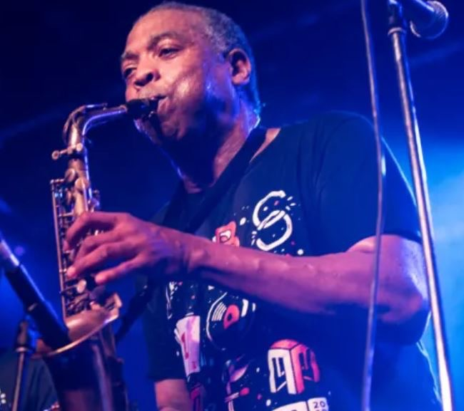 Femi Kuti performs at Max Watt's in Melbourne. Picture: Natasha Blankfield -  Sydney Morning Herald