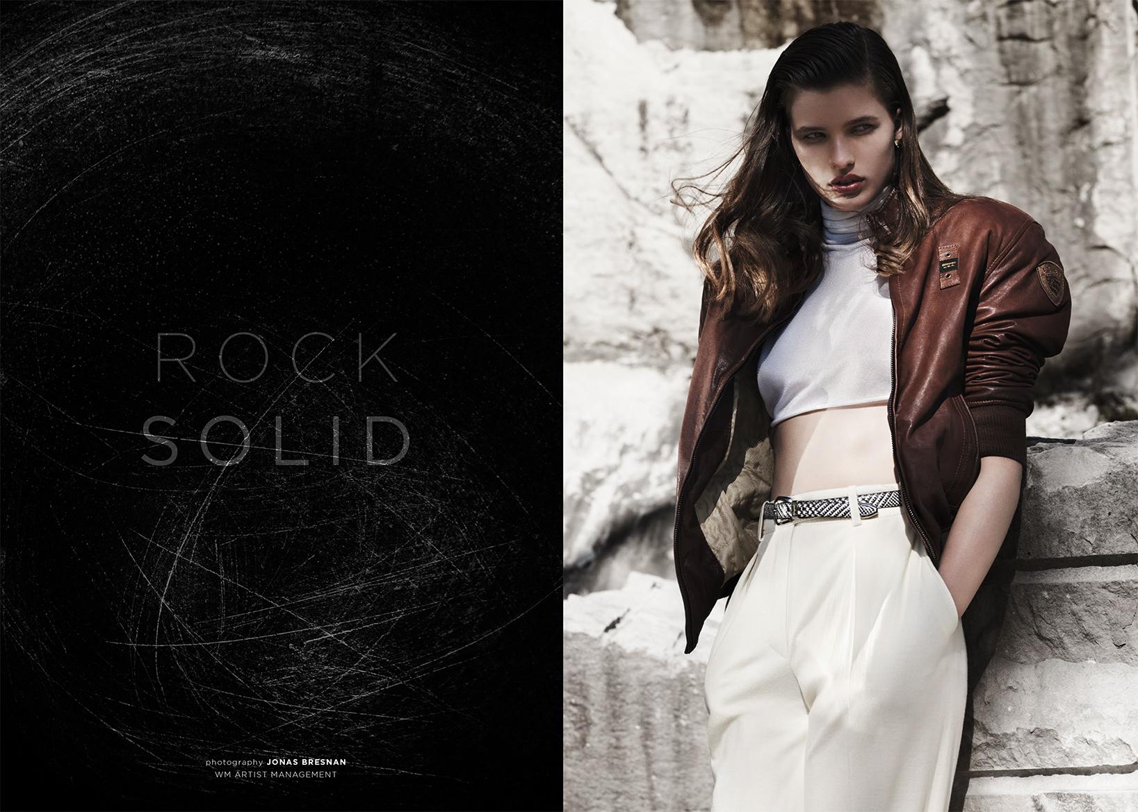 """""""SOILD ROCK""""  PHOTOGRAPHER / Jonas Brenden  view story"""