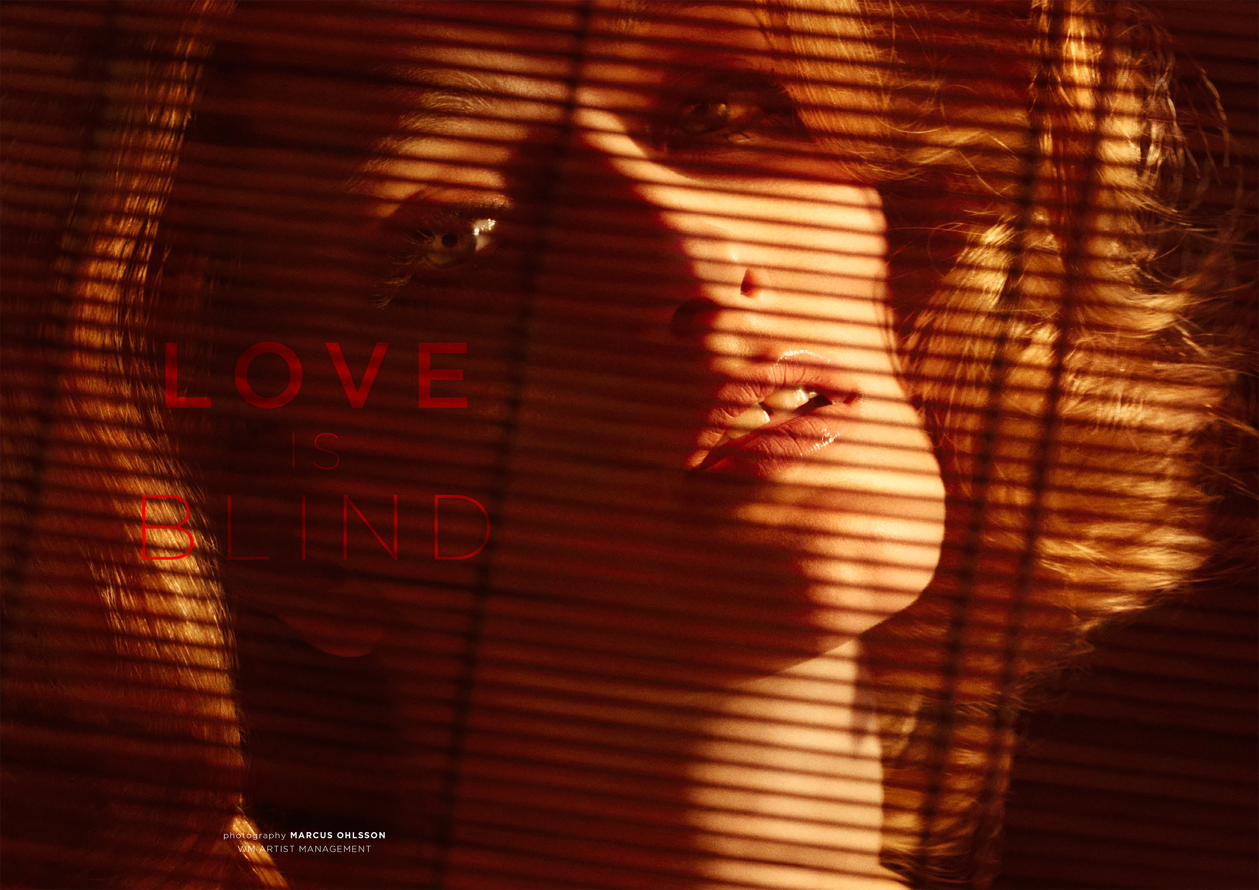 """LOVE IS BLIND"" PHOTOGRAPHER : Marcus Ohlsson   view story"