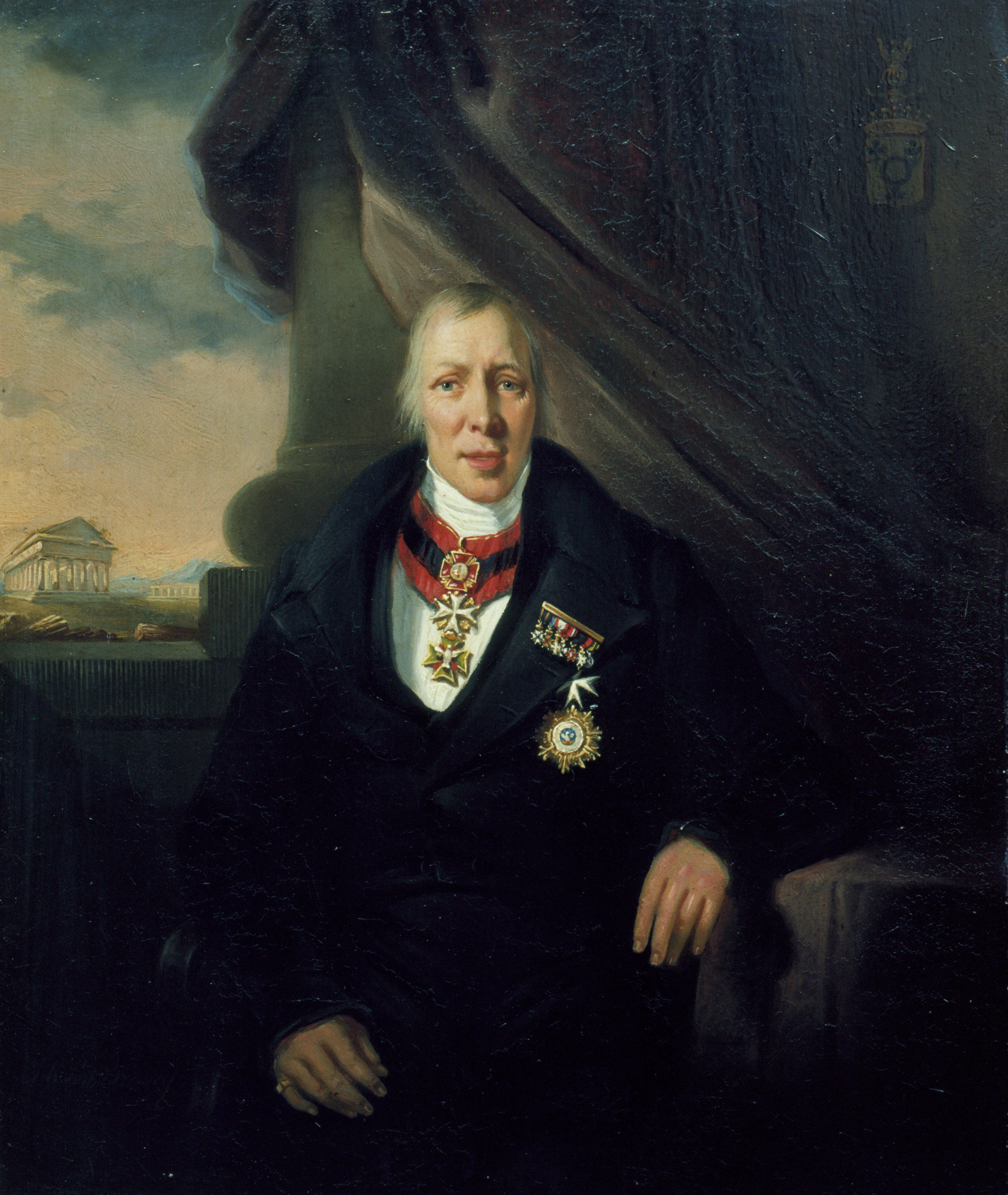 J.R. Post Brants,  Portret van Baron van Westreenen , omstreeks 1839 [Inv.nr. 25/9]