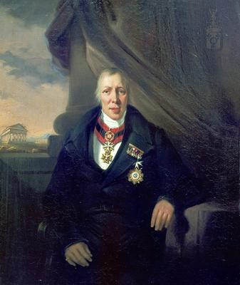 J.R. Post Brants, Portrait of Baron van Westreenen , around 1839 [Inv.nr. 25/9]