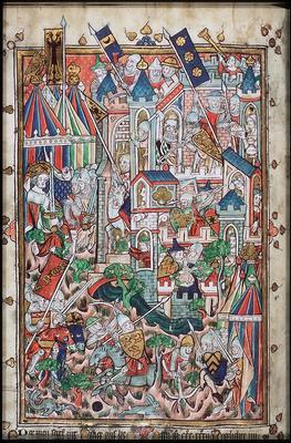 Jacob van Maerlant, Rijmbijbel , 1271/1332 [10 B 21, 152v]