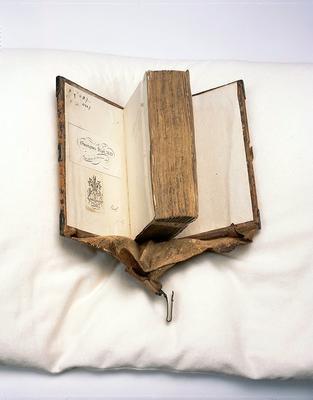 Girdle book, around 1484, Neurenberg [1 F 50]