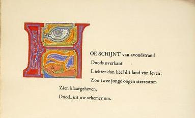 P.C. Boutens,  Naenia , 1903 [Obj. 920, [1 detail]]