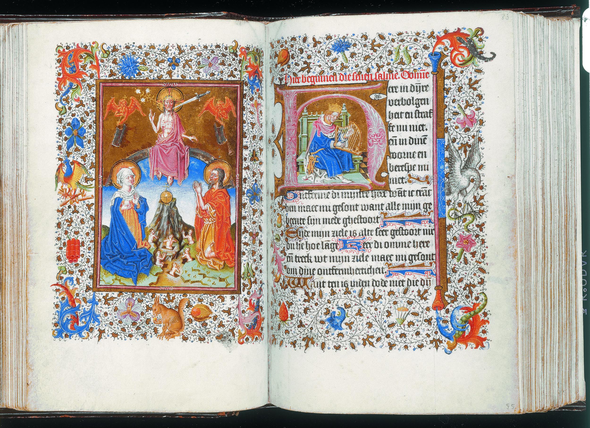 Getijdenboek (handschrift, Utrecht, ca. 1460)