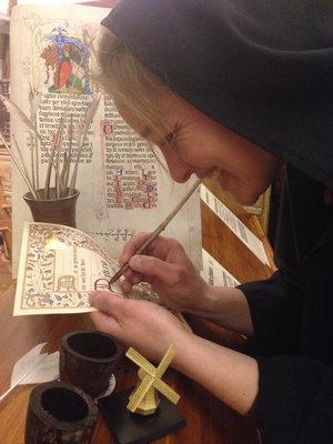 Zaterdag: schrijven als een monnik