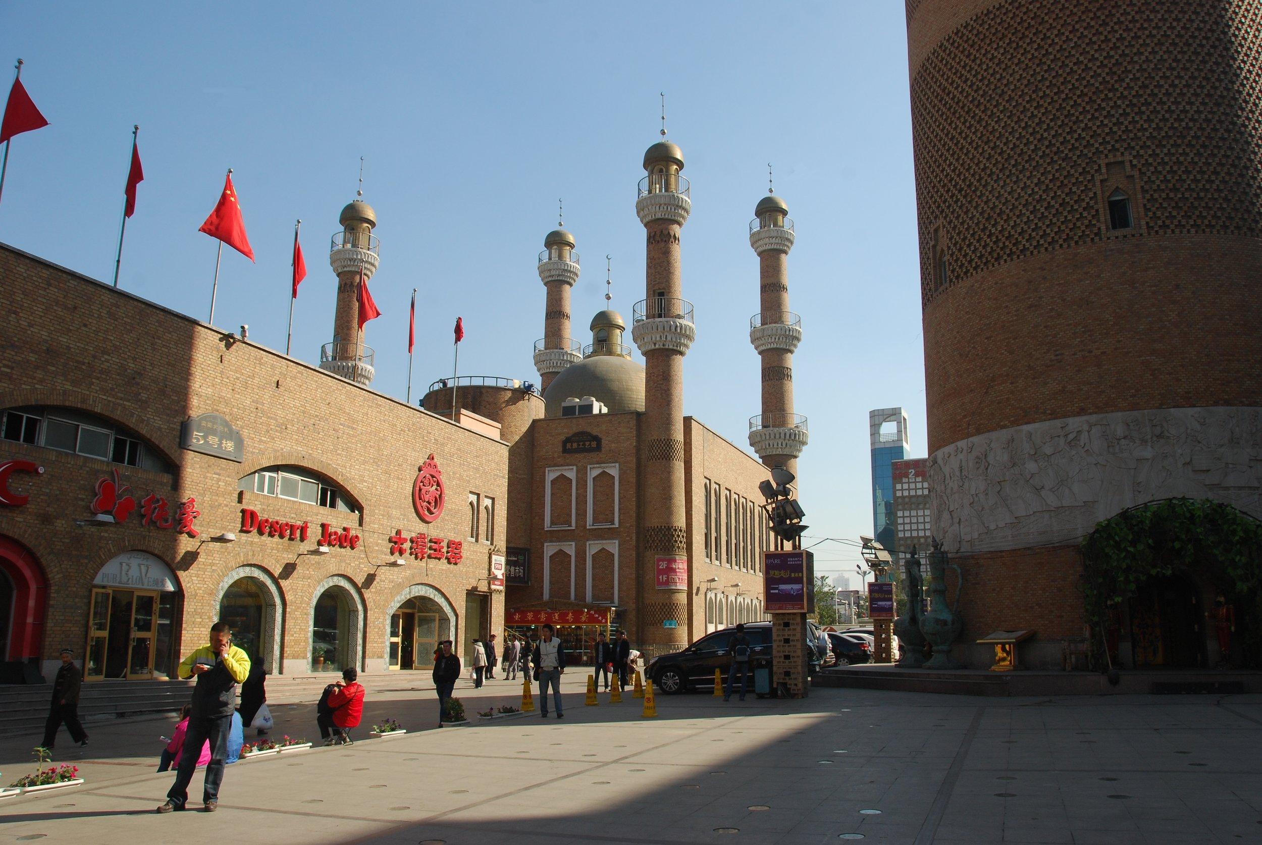 The Grand Bazaar in Urumqi.  Antoine 49 /Flickr.