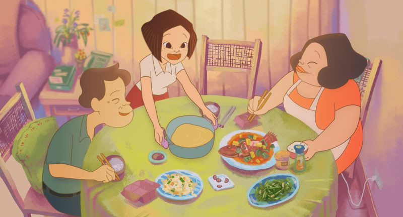 Scene from On Happiness Road.