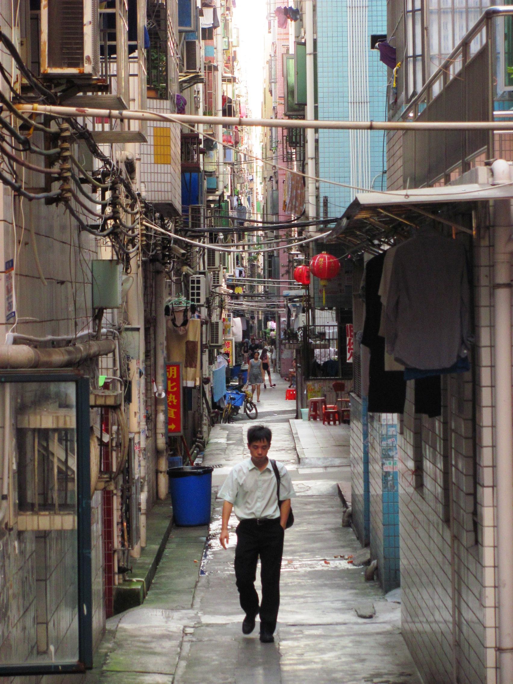 Shangshadongcun urban village, Shenzhen. Photo by Taiwan Gazette.
