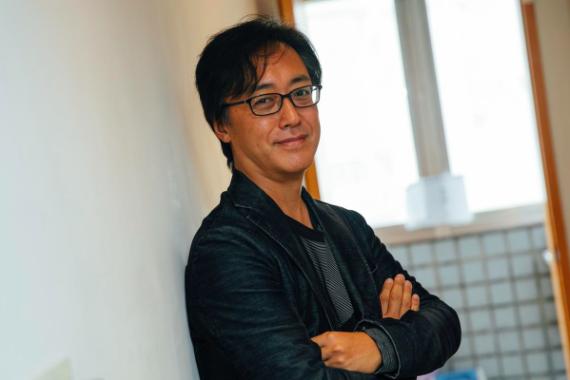 Asahi Shimbun reporter and author Nojima Tsuyoshi. Photo by Yu Chih-wei.
