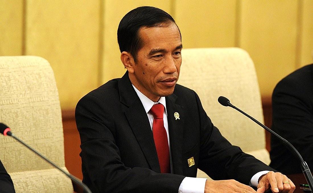 Indonesian president Joko Widodo. Photo by  the Kremlin .