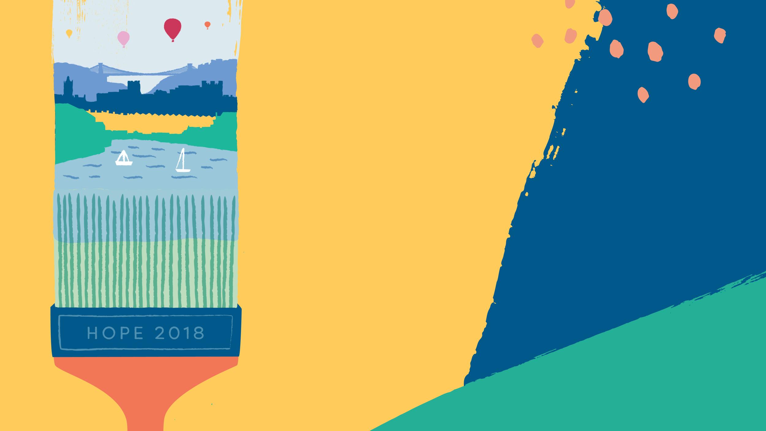 Hope Bristol 2018 - Booking Deadline: January 31st 2018