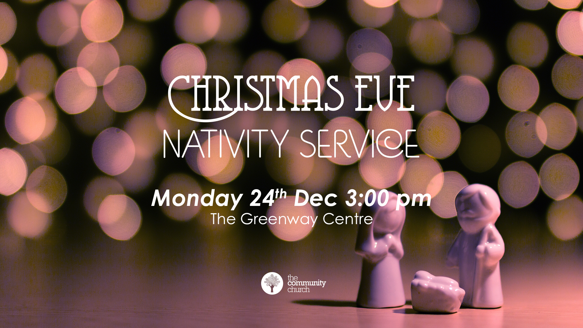 Family-friendly Christmas activities and a Nativity! (Themed fancy dress encouraged)