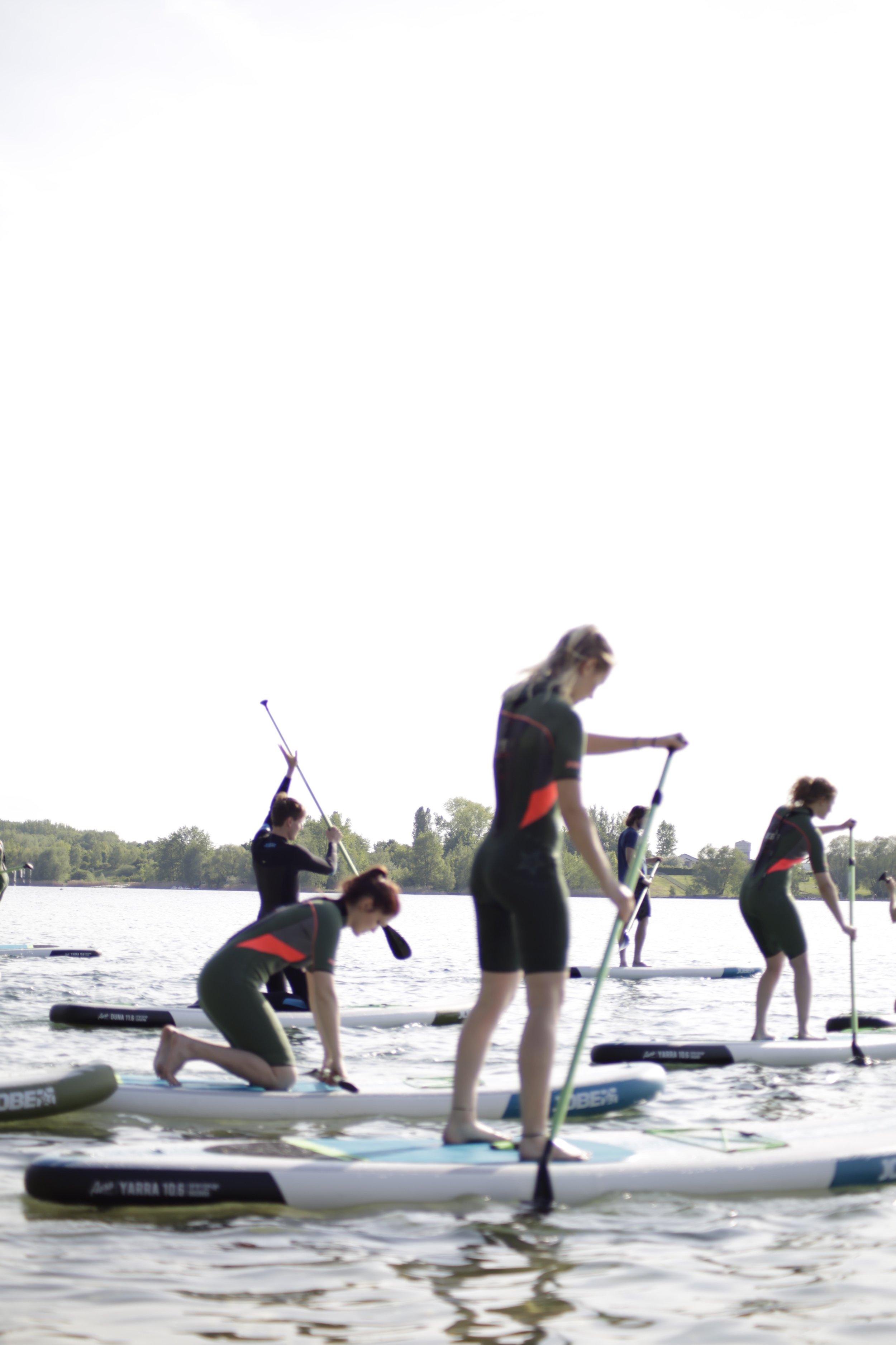 SUP Anfängerkurs - am Cospudener See mit der HTWK Leipzig