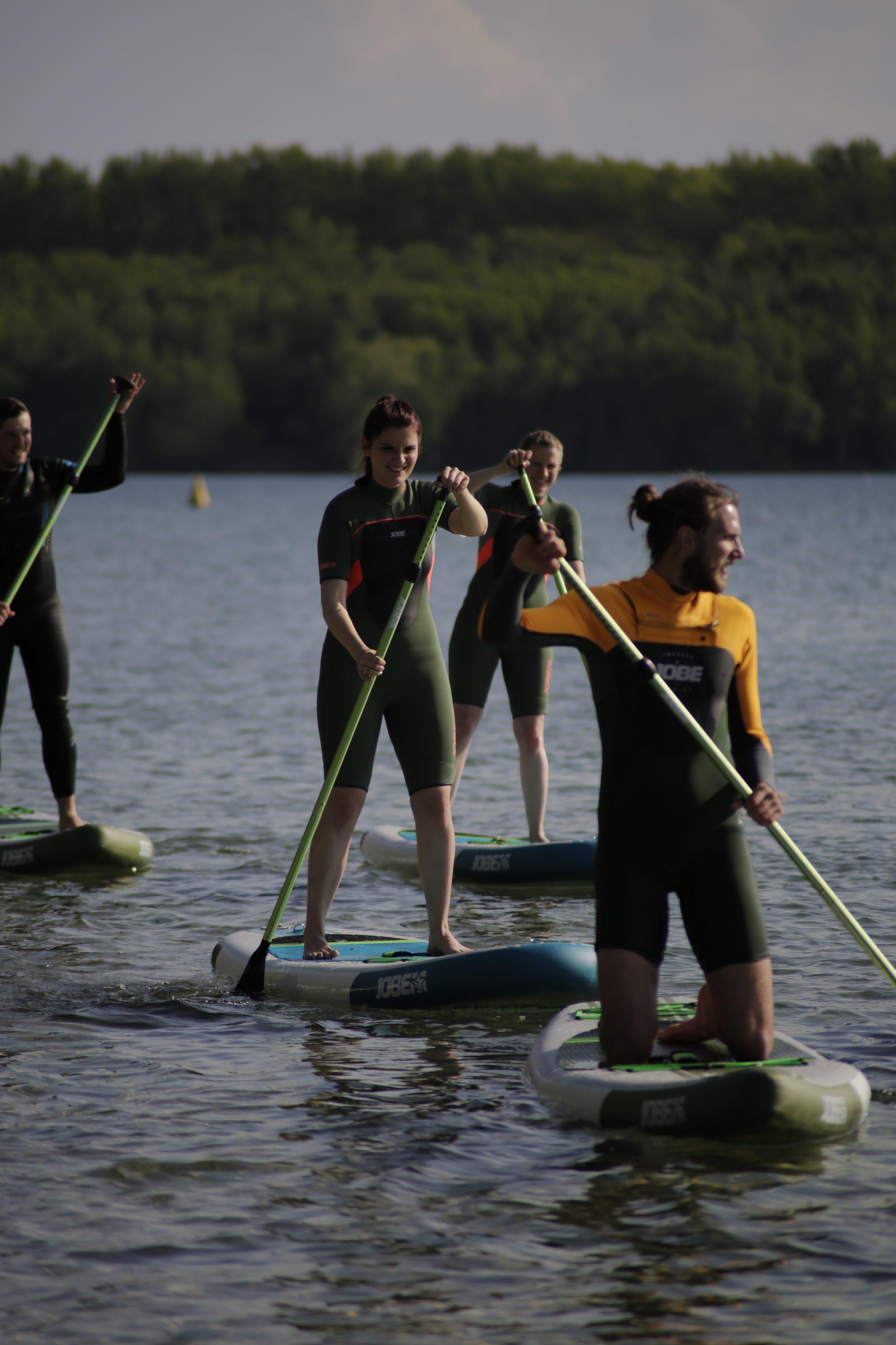 SUP Anfängerkurs - am Kulkwitzer See mit dem Zentrum für Hochschulsport Uni Leipzig