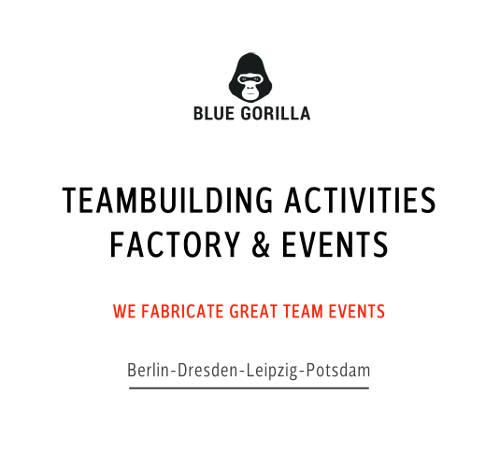 Teamevents Blue Gorilla Teambuilding