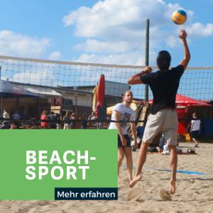 Beachsport Beachvolleyball Beachsoccer