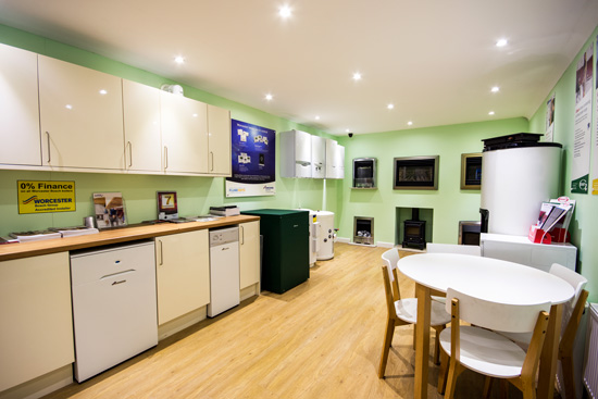 See our range of boilers and installation options in our purpose built showroom.