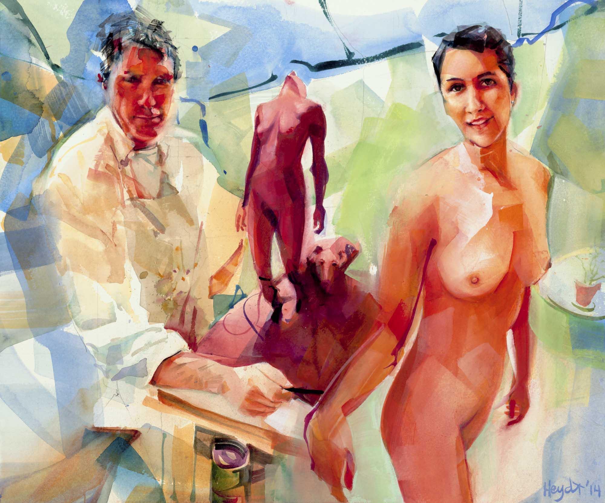 Artist And His Model.jpg