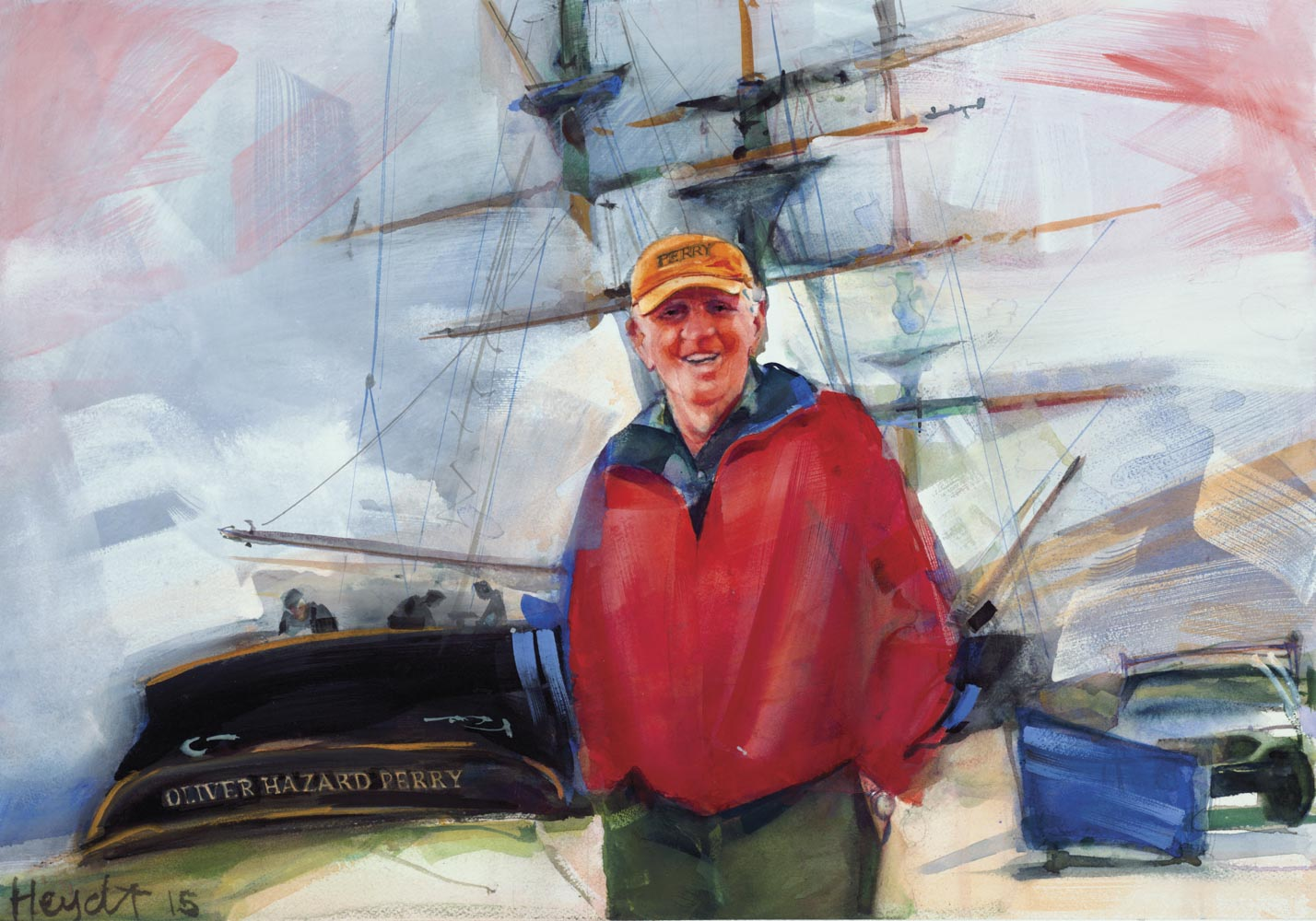 Bart Dunbar, the visionary leader for the SSV Oliver Hazard Perry