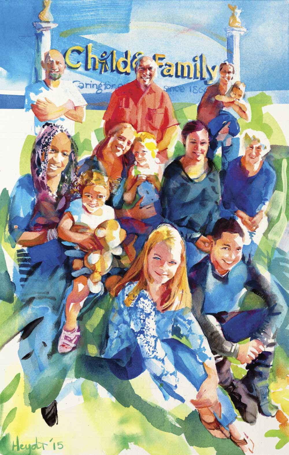 Caring for our Community, Child & Family services