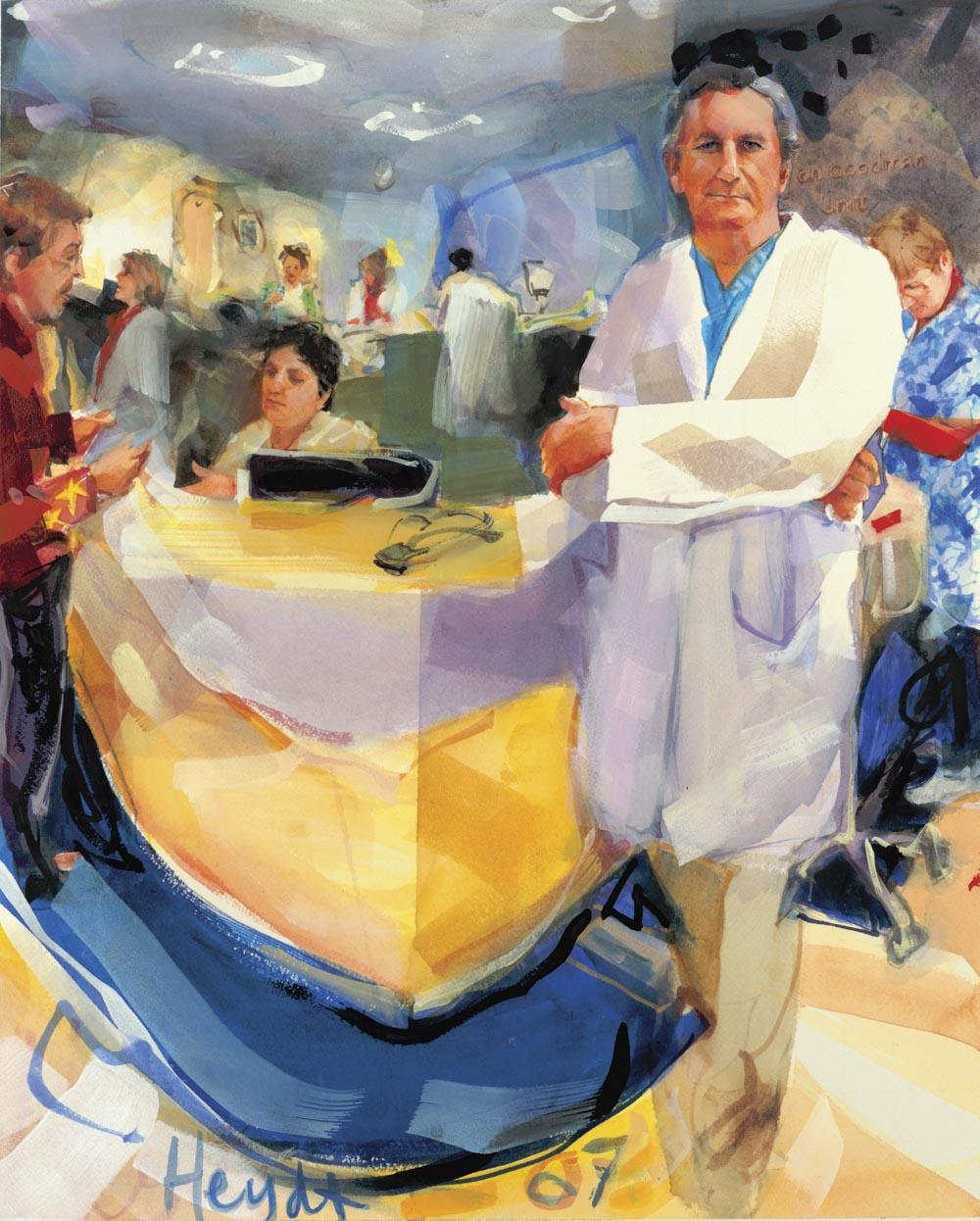 Doctor Orest Zaklynsky M.D., Surgeon, Newport Hospital