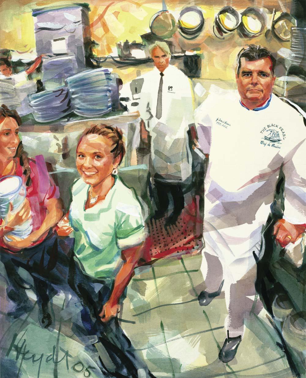 J. Daniel Knerr, Chef de Cuisine, The Black Pearl, Newport