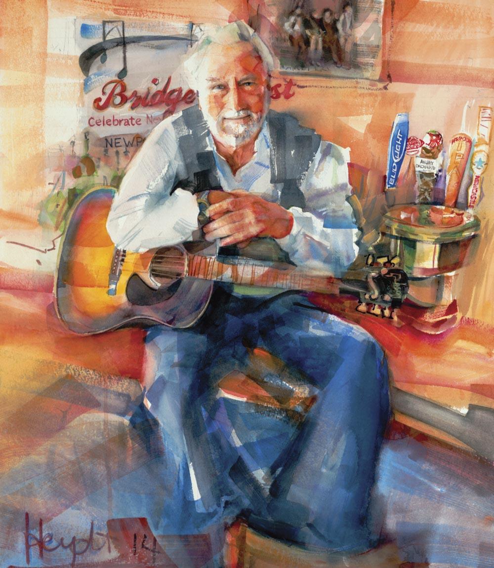 Jim McGrath, Musician and Songwriter, Bridgefest, Newport