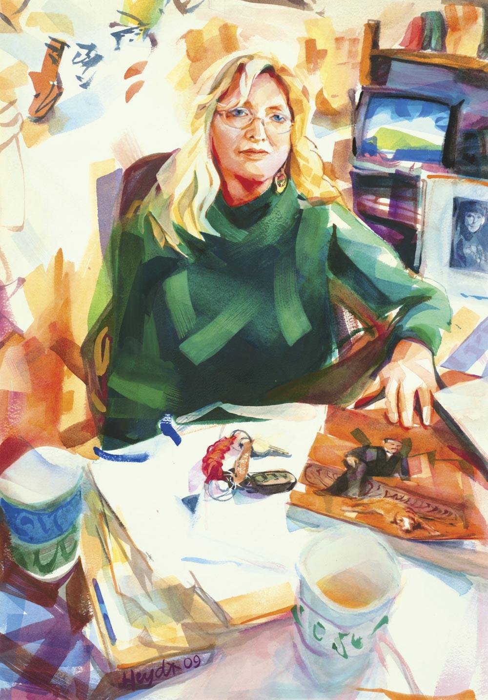 Nancy Whipple Grinnel, Curator, Newport Art Museum