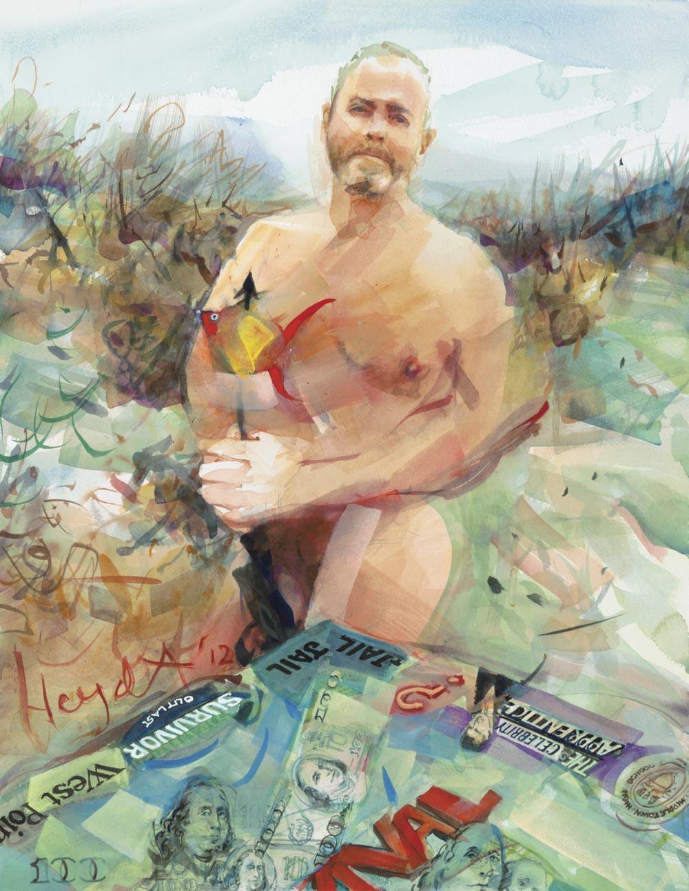 Richard Hatch, Survivor, Second Beach