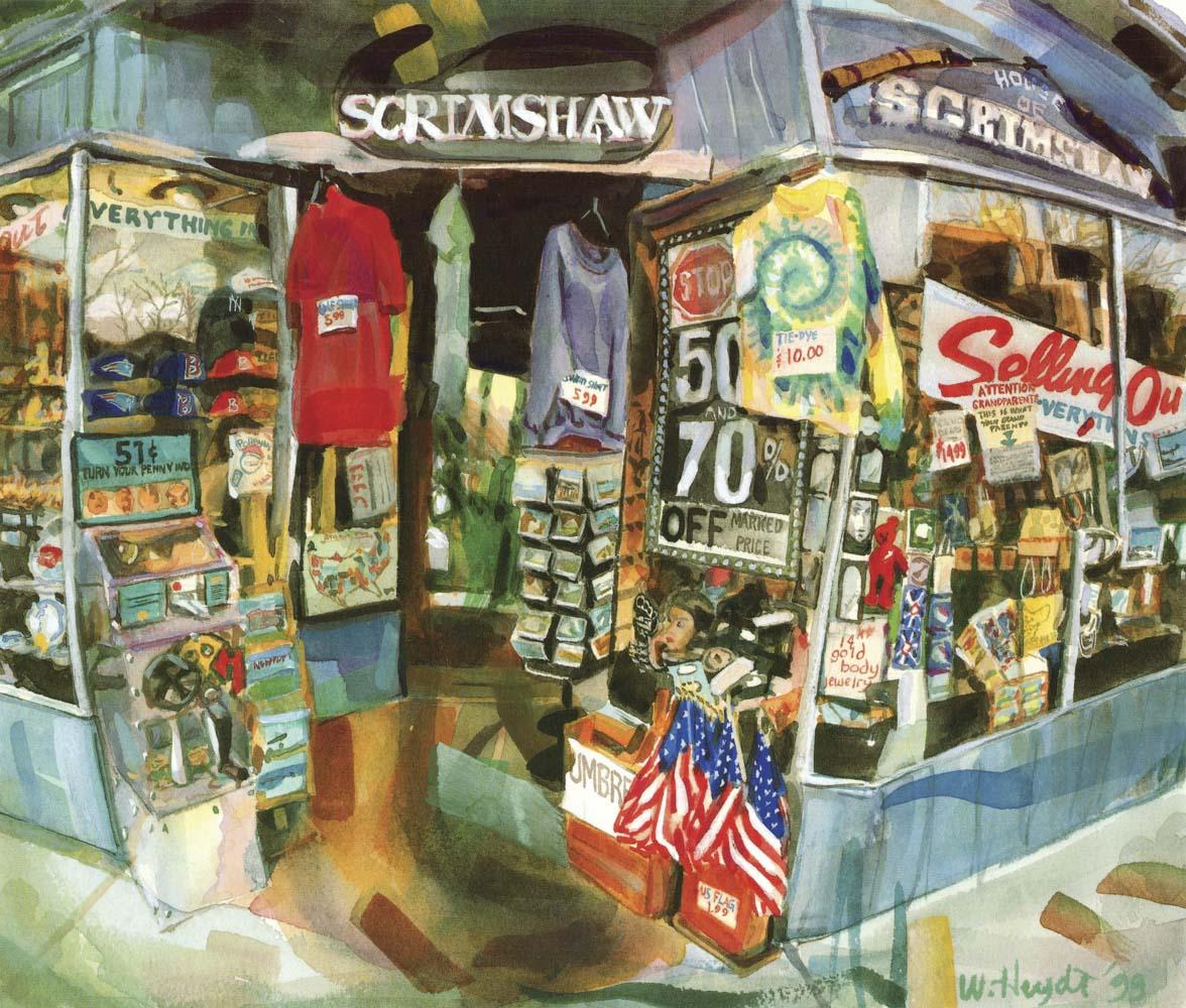 Scrimshaw Shop Sellout - Newport