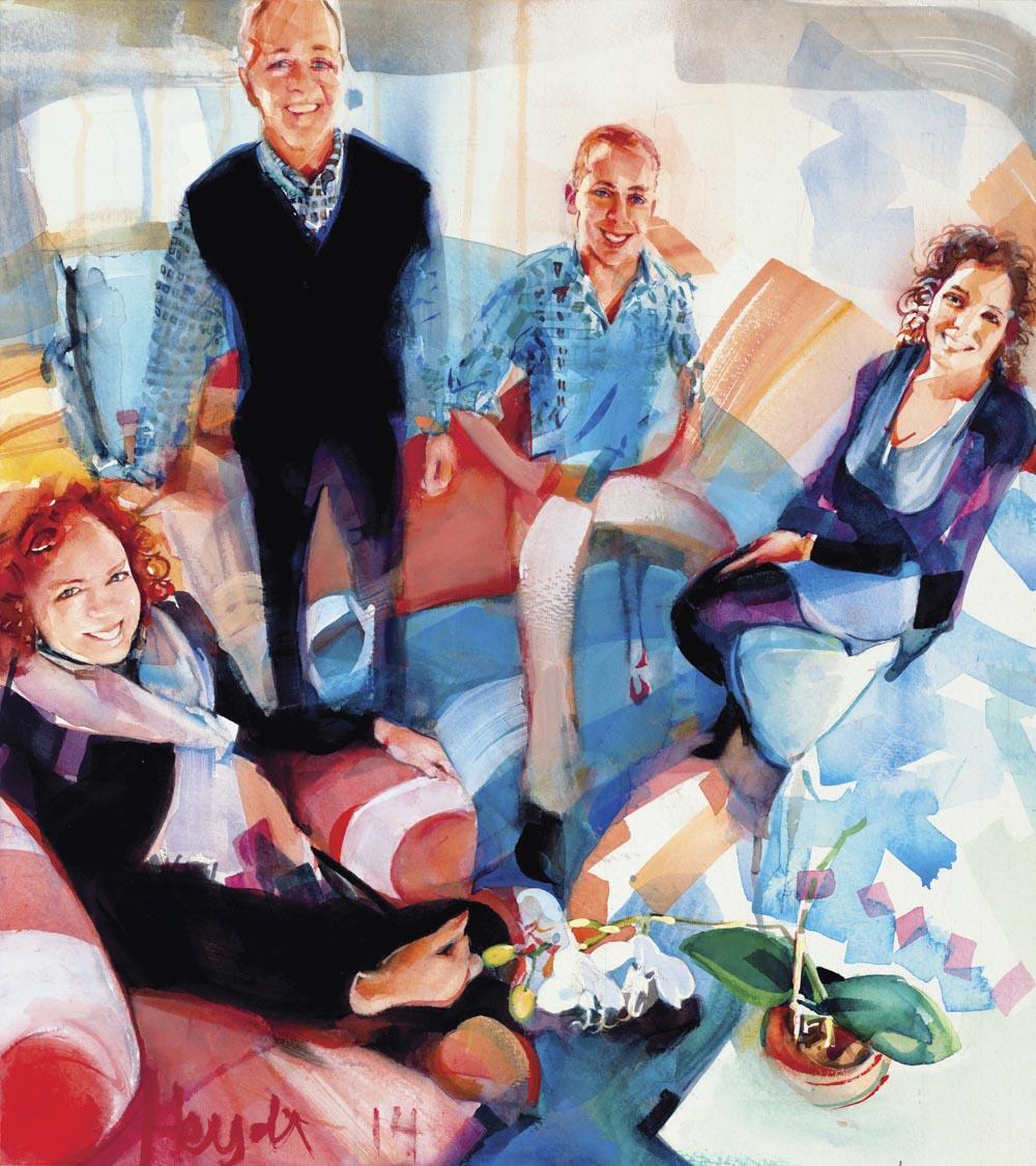 The Bliss Family, Newport