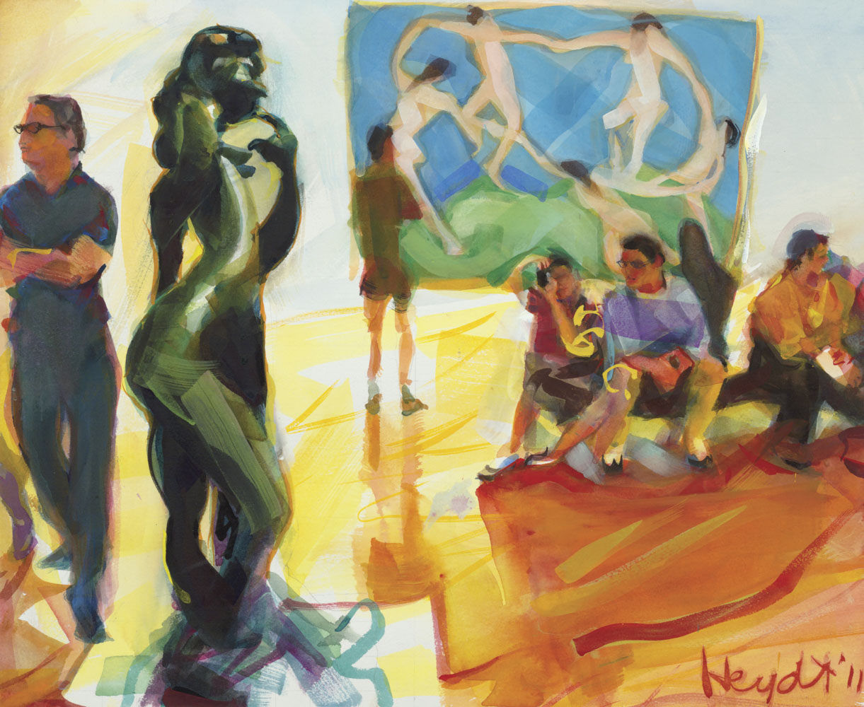 The Matisse room at the Metropolitan Museum, New York City
