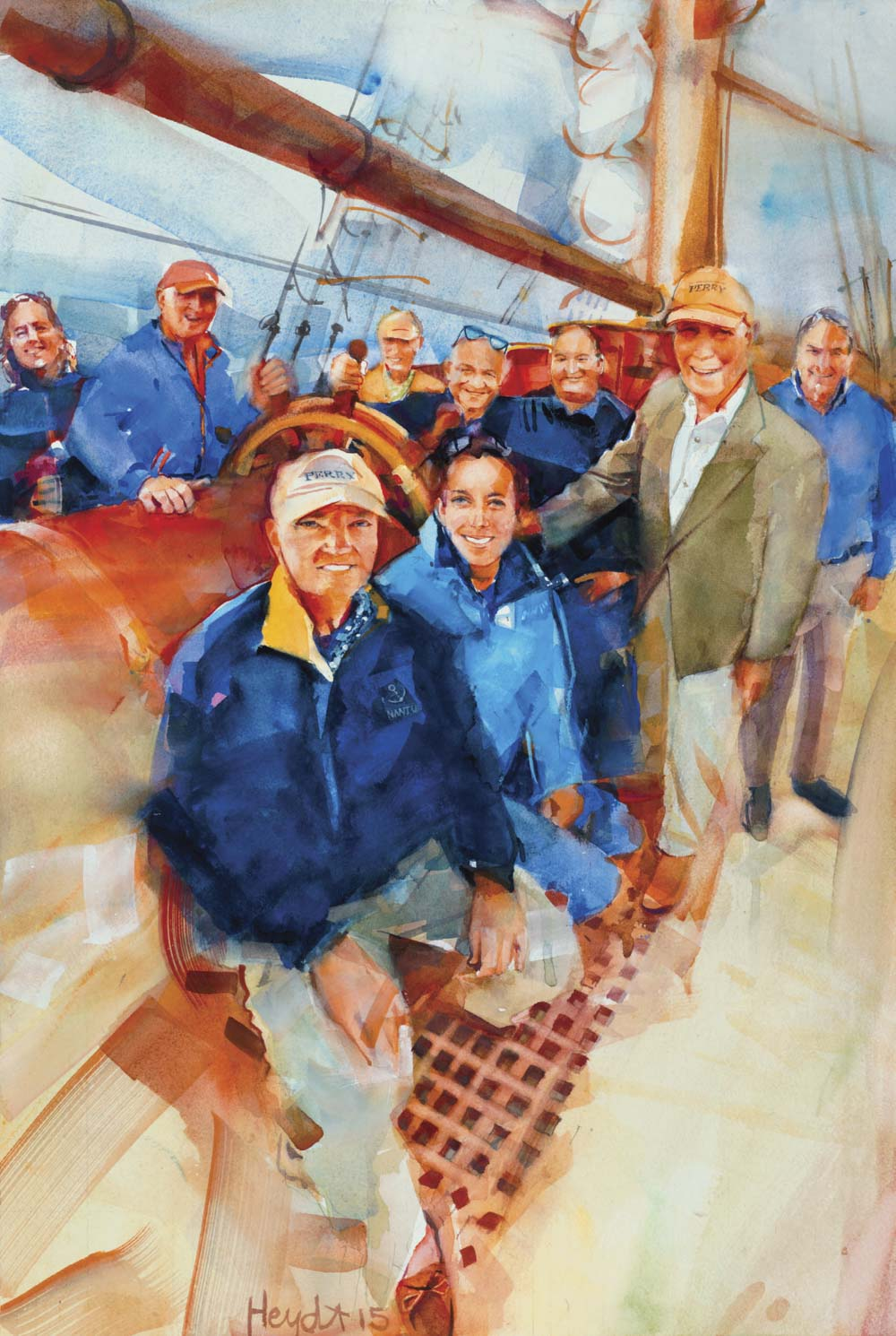 The team behind Rhode Island's newest Tall Ship, SSV Oliver Hazard Perry