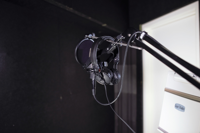 Do you recordings in our speak studio facilities and have the support of our staff!
