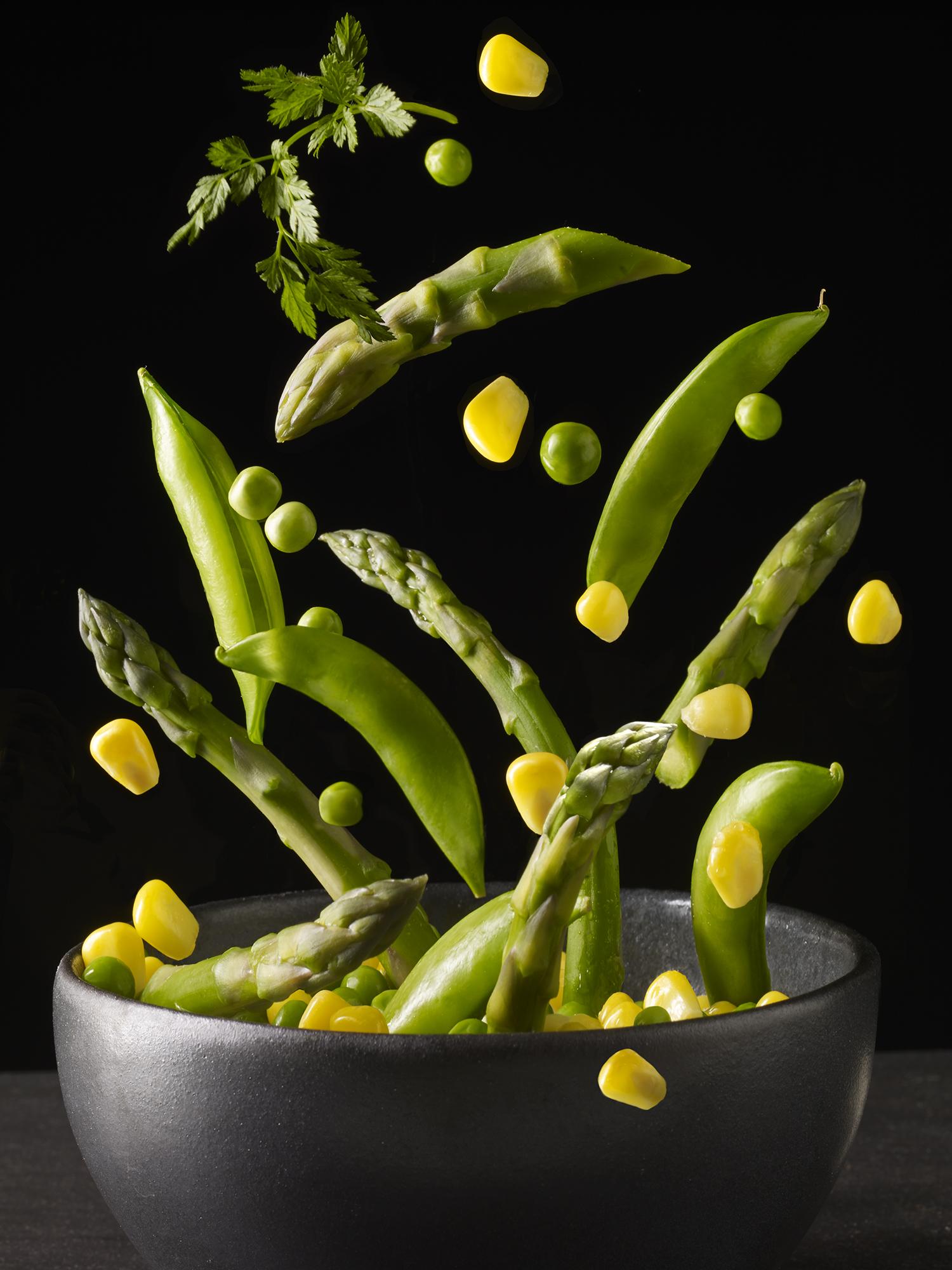 Flying asparagus and peas.jpg