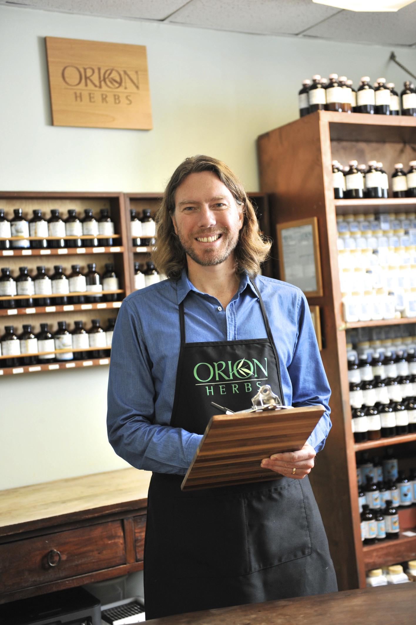 Orion, Orion@Orionherbs.com